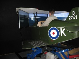 Flight Simulator of an Airplane from the I. World War